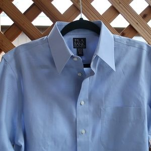 JOS A BANK dress shirt - 15.5 -32